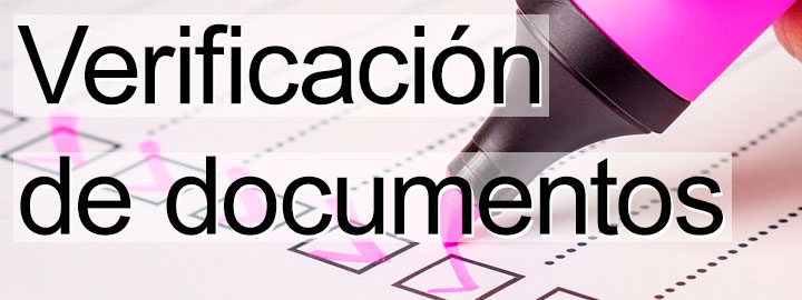 Verificación de documentos